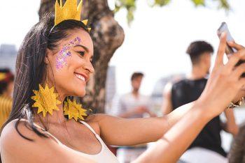 5 cuidados básicos com a maquiagem no carnaval